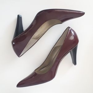 Patent Leather Pointed Heels - NWOT